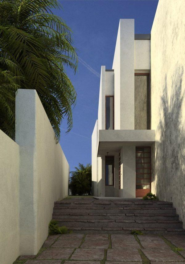 House Exterior Scene  061