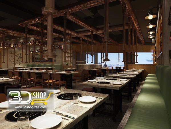 061-Interior Scenes-Cafes & Restaurants-Industrial style