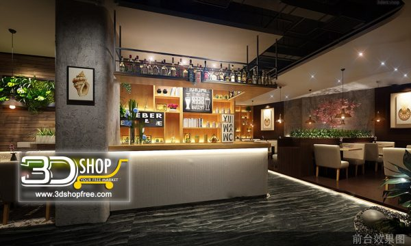 074-Interior Scenes-Cafes & Restaurants-Industrial style