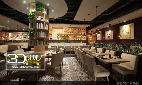 075-Interior Scenes-Cafes & Restaurants-Industrial style