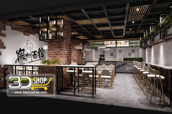 079-Interior Scenes-Cafes & Restaurants-Industrial style