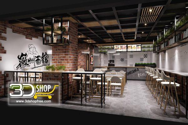 079-Interior Scenes-Cafes & Restaurants-Industrial style