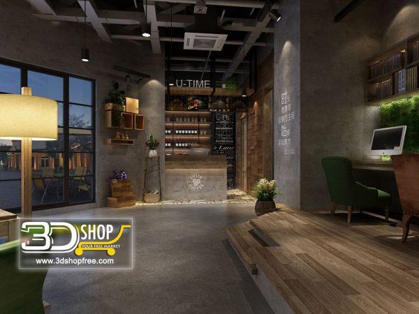 086-Interior Scenes-Cafes & Restaurants-Industrial style