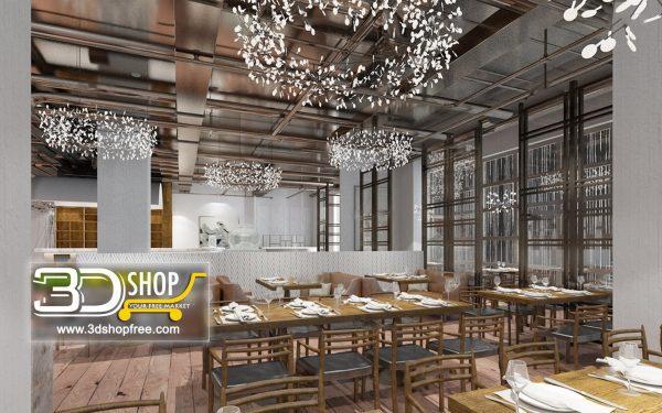 093-Interior Scenes-Cafes & Restaurants-Modern style