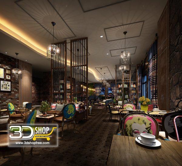 095-Interior Scenes-Cafes & Restaurants-Industrial style