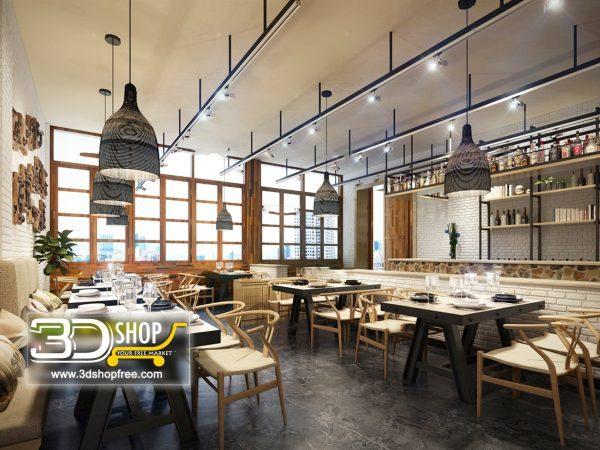 096-Interior Scenes-Cafes & Restaurants-Industrial style
