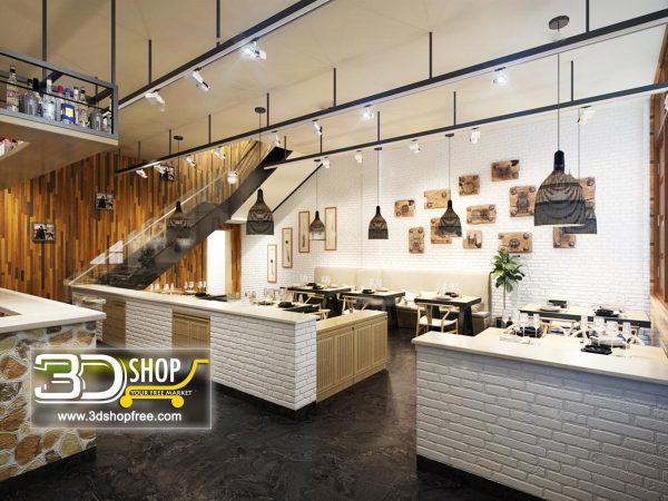 097-Interior Scenes-Cafes & Restaurants-Industrial style