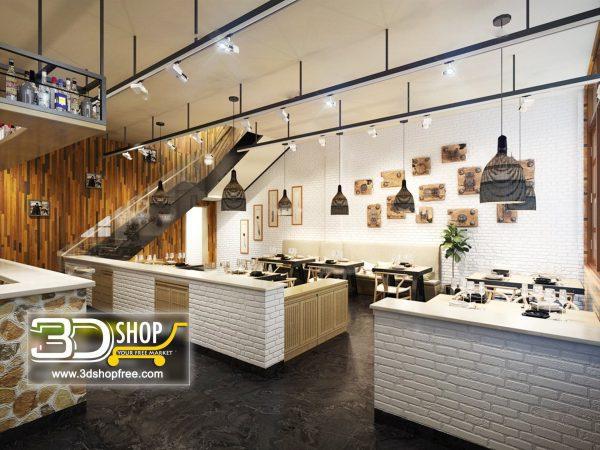 097-Interior Scenes-Cafes & Restaurants-Industrial style