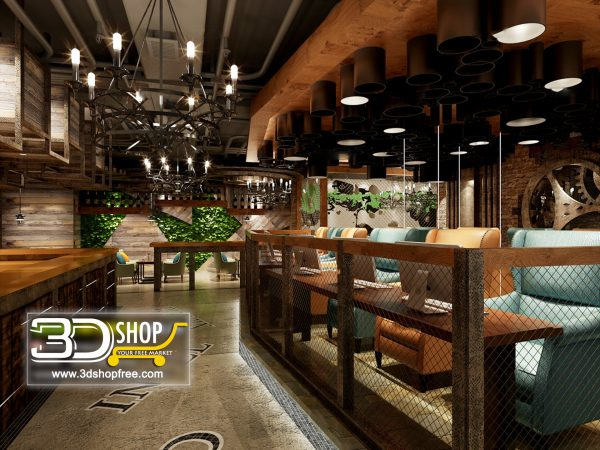 Interior Scenes – Cafes & Restaurants -Industrial style 109