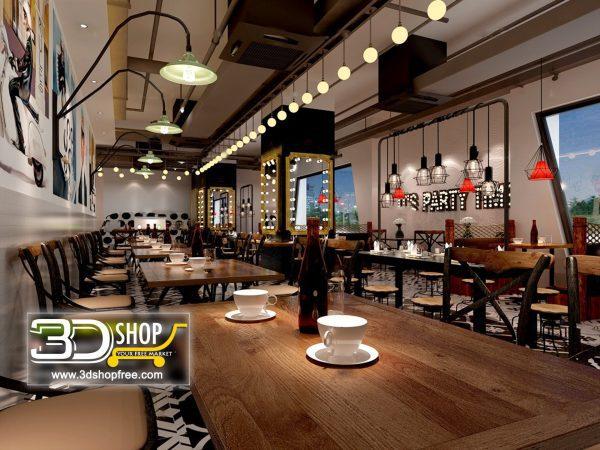 111-Interior Scenes-Cafes & Restaurants-Industrial style