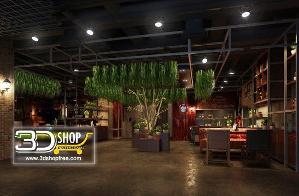 115-Interior Scenes-Cafes & Restaurants-Industrial style