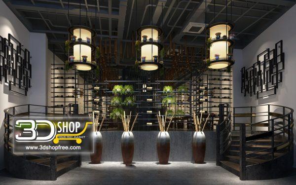 126-Interior Scenes-Cafes & Restaurants-Mix style