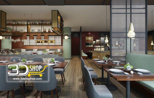 133-Interior Scenes-Cafes & Restaurants-Mix style