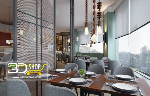 134-Interior Scenes-Cafes & Restaurants-Mix style