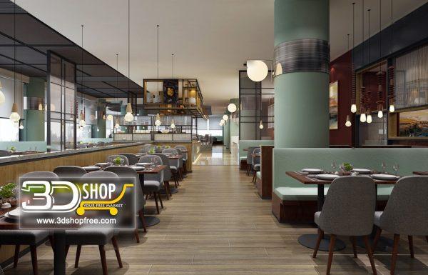 135-Interior Scenes-Cafes & Restaurants-Mix style