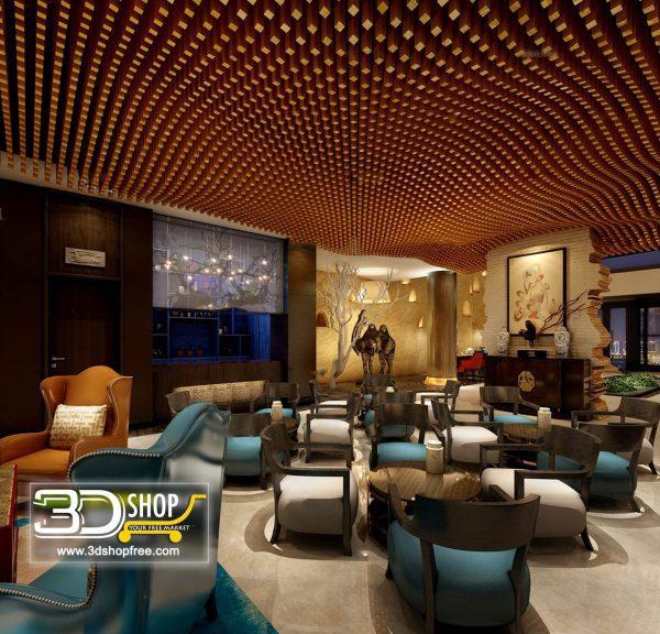 136-Interior Scenes-Cafes & Restaurants-Mix style