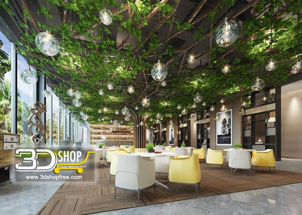 145-Interior Scenes-Cafes & Restaurants-Modern style