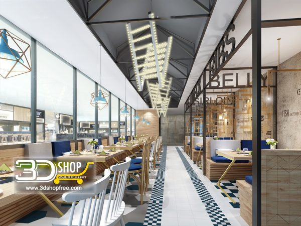 150-Interior Scenes-Cafes & Restaurants-Modern style
