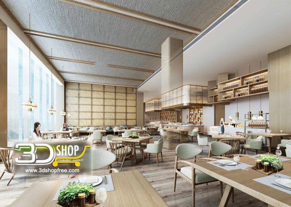 151-Interior Scenes-Cafes & Restaurants-Modern style