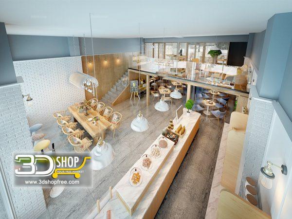 152-Interior Scenes-Cafes & Restaurants-Modern style