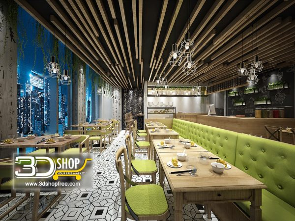 153-Interior Scenes-Cafes & Restaurants-Modern style