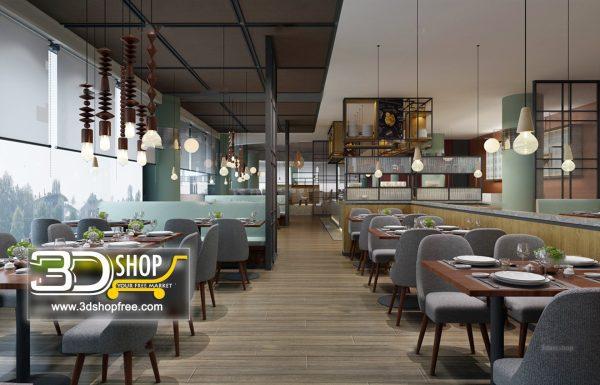 154-Interior Scenes-Cafes & Restaurants-Modern style