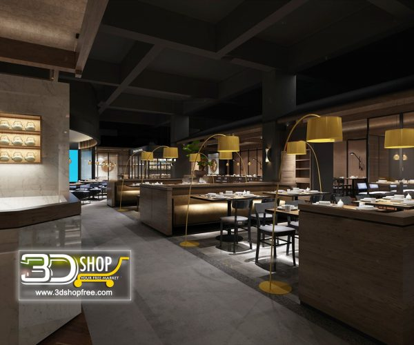 155-Interior Scenes-Cafes & Restaurants-Modern style