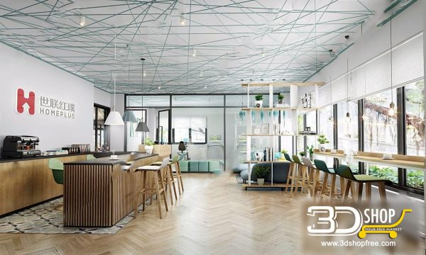 178-Interior Scenes-Cafes & Restaurants-Modern style