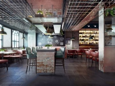 183-Interior Scenes-Cafes & Restaurants-Modern style