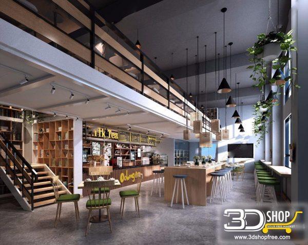 188-Interior Scenes-Cafes & Restaurants-Modern style