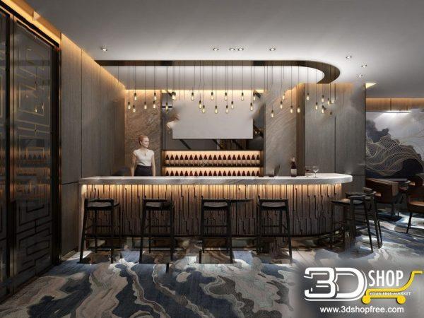 189-Interior Scenes-Cafes & Restaurants-Modern style