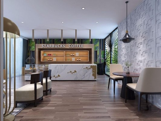 Interior Scenes – Cafes & Restaurants – Modern style 199