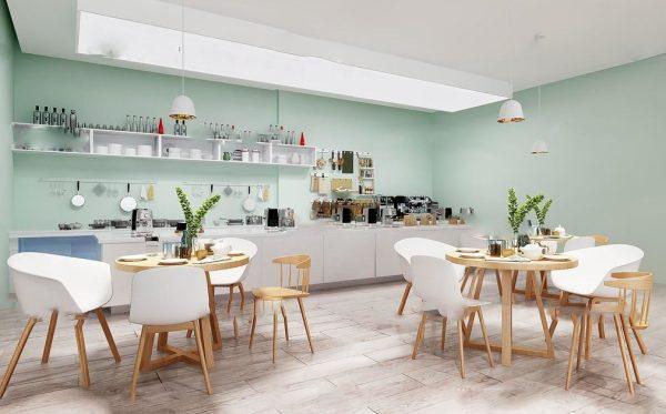 200-Interior Scenes-Cafes & Restaurants-Modern style