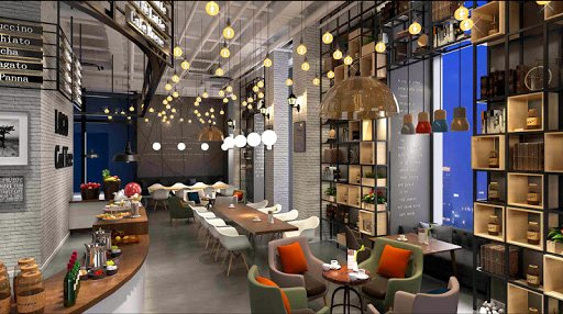 207-Interior Scenes-Cafes & Restaurants-Modern style