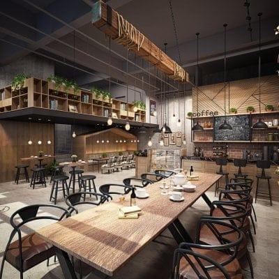 219-Interior Scenes-Cafes & Restaurants-Modern style