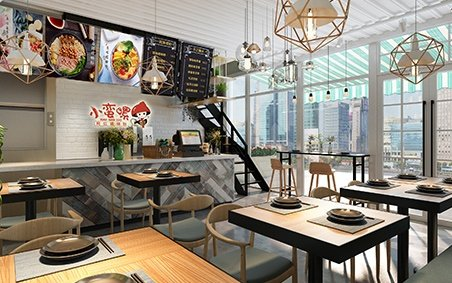 242-Interior Scenes-Cafes & Restaurants-Modern style