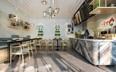 Interior Scenes Cafes and Restaurants Modern style 243
