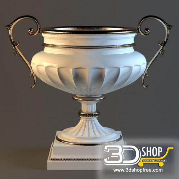 Vase 3d Model 001