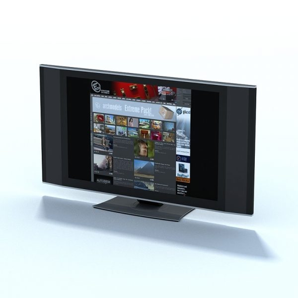 002-3d Models-Hardware & Computers-Monitor