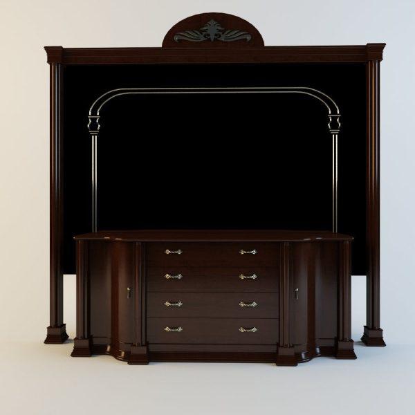 003-3d Models-Furniture-Sideboard & Chest of Drawer