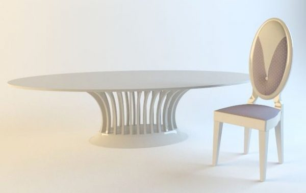 003-3d Models-Tables & Chairs