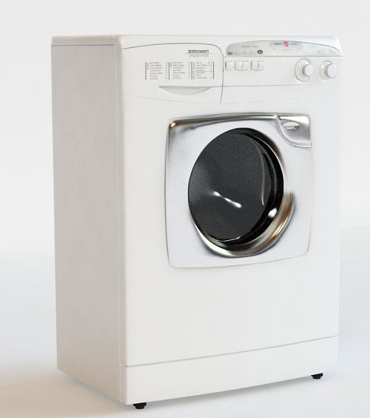 003-3d Models-Technology-Household Appliance-Washing Machine