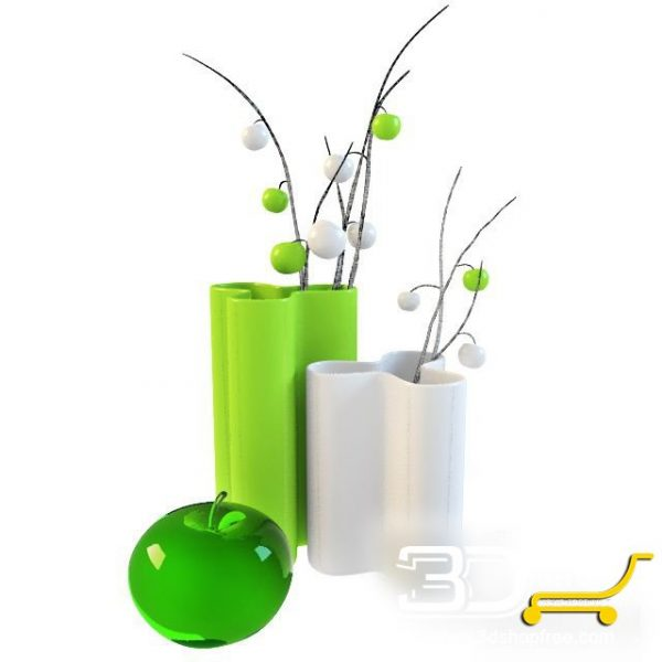 003-3d Models-Vases