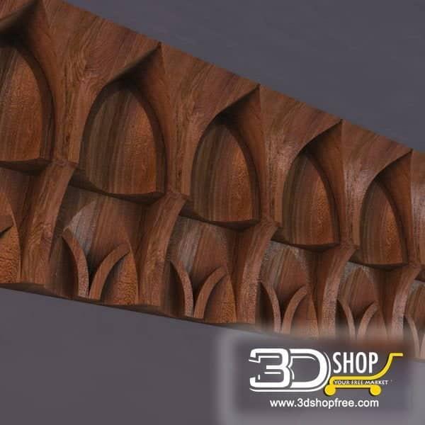 004-3d Models-Decorative Plaster