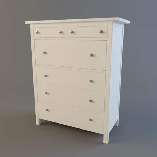 005-3d Models-Furniture-Sideboard & Chest of Drawer