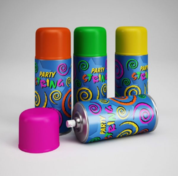 005-3d Models-Party Supplies-Party Spray
