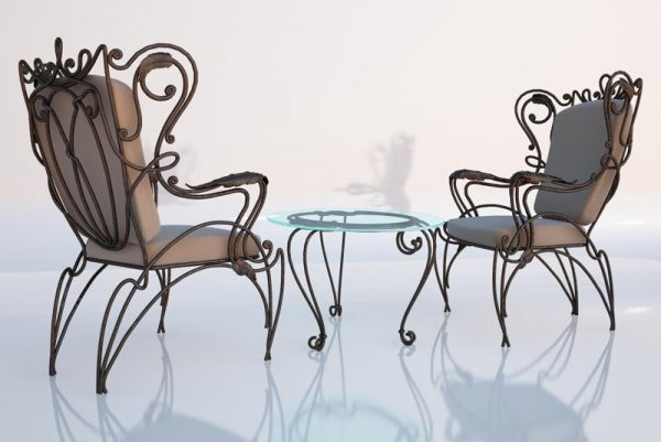 005-3d Models-Tables & Chairs