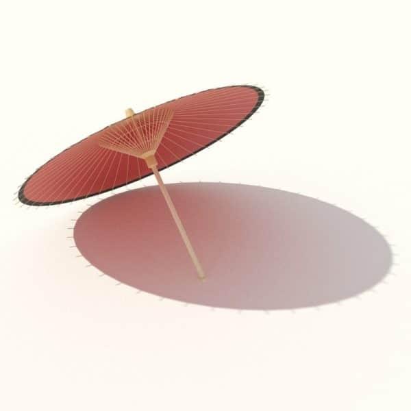 006-3d Models-Accessories-Umbrella