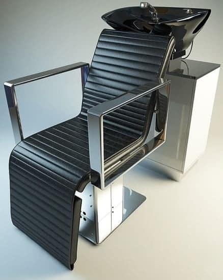 006-3d Models-Beauty-Washing Chair