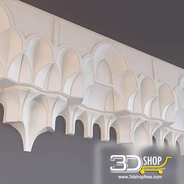 006-3d Models-Decorative Plaster